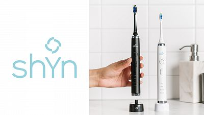 Shyn Sonic Toothbrush Whitening Bundle