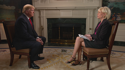60 Minutes Overtime: Lesley Stahl on what it's like to interview President Trump