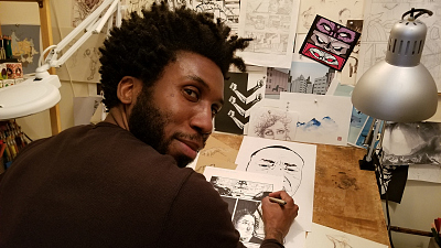 Nyambi Nyambi's Drawings Take Center Stage On The Good Fight