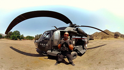 Buckle Up For A S.W.A.T. Mission In 360 Degrees