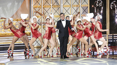 Stephen Colbert's Funniest Moments From The 69th Emmy Awards