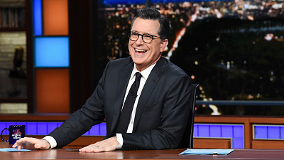 Four More Years! Four More Years! Stephen Colbert Renews With The Late Show