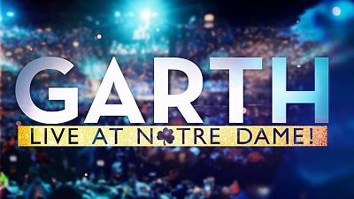 Country-Music Icon Garth Brooks To Premiere Garth: Live At Notre Dame! On Dec. 2