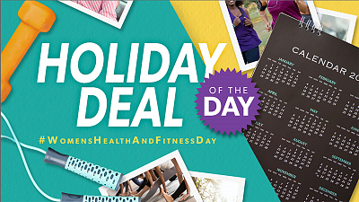 ​Holiday Deal Of The Day - #WomensHealthAndFitnessDay