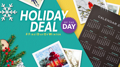 Holiday Deal Of The Day - #FirstDayofWinter