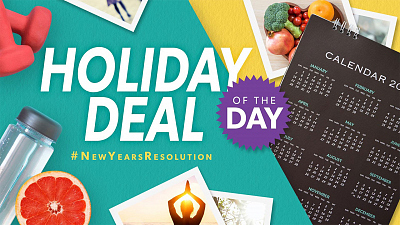 Holiday Deal Of The Day - #NewYearsResolutionsWeek
