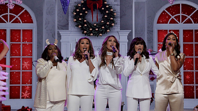 Get Into The Holiday Spirit With The First-Ever Musical Holiday Episode Of The Talk