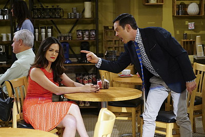 First Look: Oscar Finds Himself On A Date With Felix's Ex-Wife On The Odd Couple