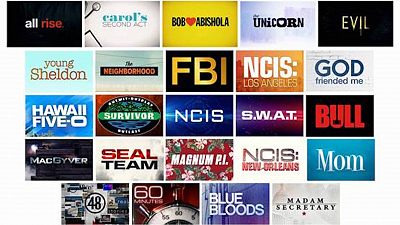 CBS TV Network Primetime, Daytime, Late Night and Classic Television