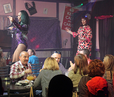 First Look: Twin Co-Owners Go Undercover At Hamburger Mary's