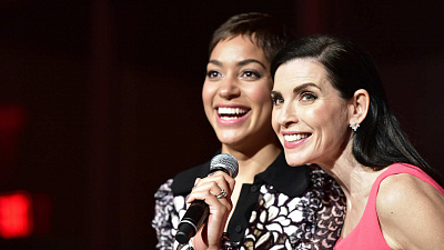 23 Adorable Photos From The Good Wife Wrap Party