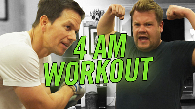 James Joins Mark Wahlberg's 4am Workout Club