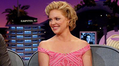 Doubt Star Katherine Heigl Recalls Her Dating Days On The Late Late Show