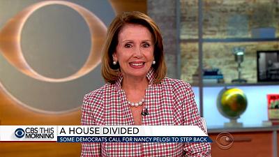 Nancy Pelosi responds to calls for new Democratic leadership