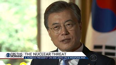 South Korean president on dealing with North Korea & Kim Jong Un