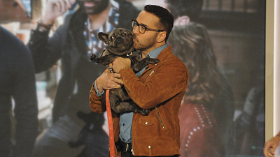 Jeremy's Pup Melts Hearts When The Cast Visits The Talk