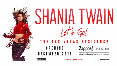 """Get Tickets To Shania Twain's """"Let's Go!"""" Las Vegas Concerts"""