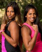 Natalie and Nadiya Anderson