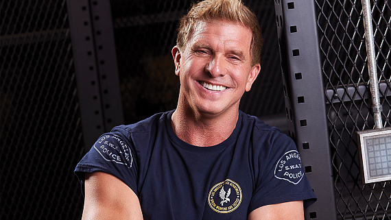 S.W.A.T. Star Kenny Johnson Is Armed And Dangerous