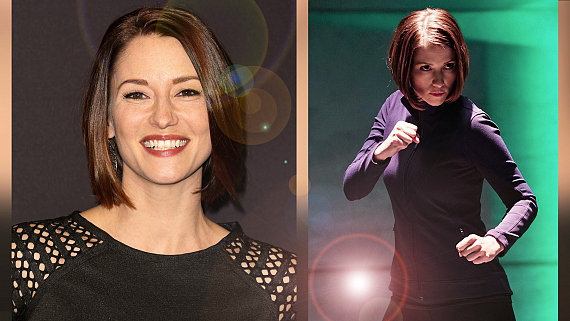 How Supergirl Star Chyler Leigh Stays Focused And Fit