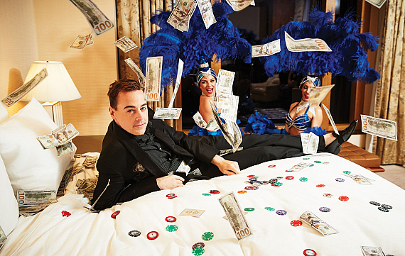 NCIS Star Sean Murray Sizzles In Sin City