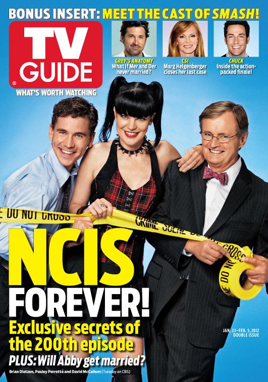 Ncis Tv Guide Cover Ncis Photos Cbs
