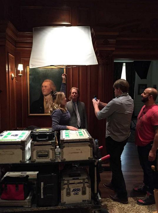 Behind The Scenes On The Set Of Madam Secretary