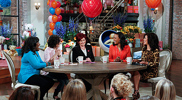 Sharons Million Baby Shower Page 3 The Talk Photos Cbscom