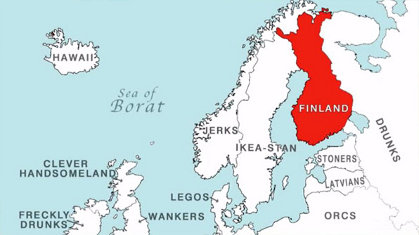 14 late late show maps to teach you world geography page 4 the map of finland gumiabroncs Images
