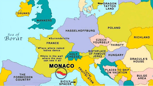 14 Late Late Show Maps to Teach You World Geography Page 7 The