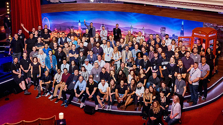 Meet The People Behind The Making Of The Late Late Show In London