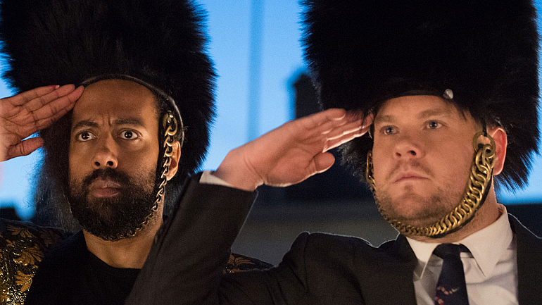 James Corden And Reggie Watts Return To London With The Late Late Show