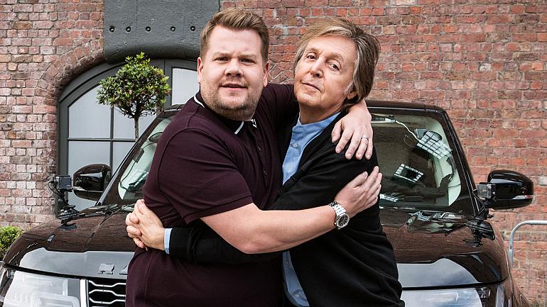 Paul McCartney Joins James Corden For Carpool Karaoke Around Liverpool
