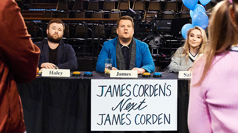 Watch James Corden's Next James Corden Only On Snapchat Shows